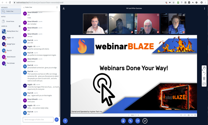 Webinars done your way.